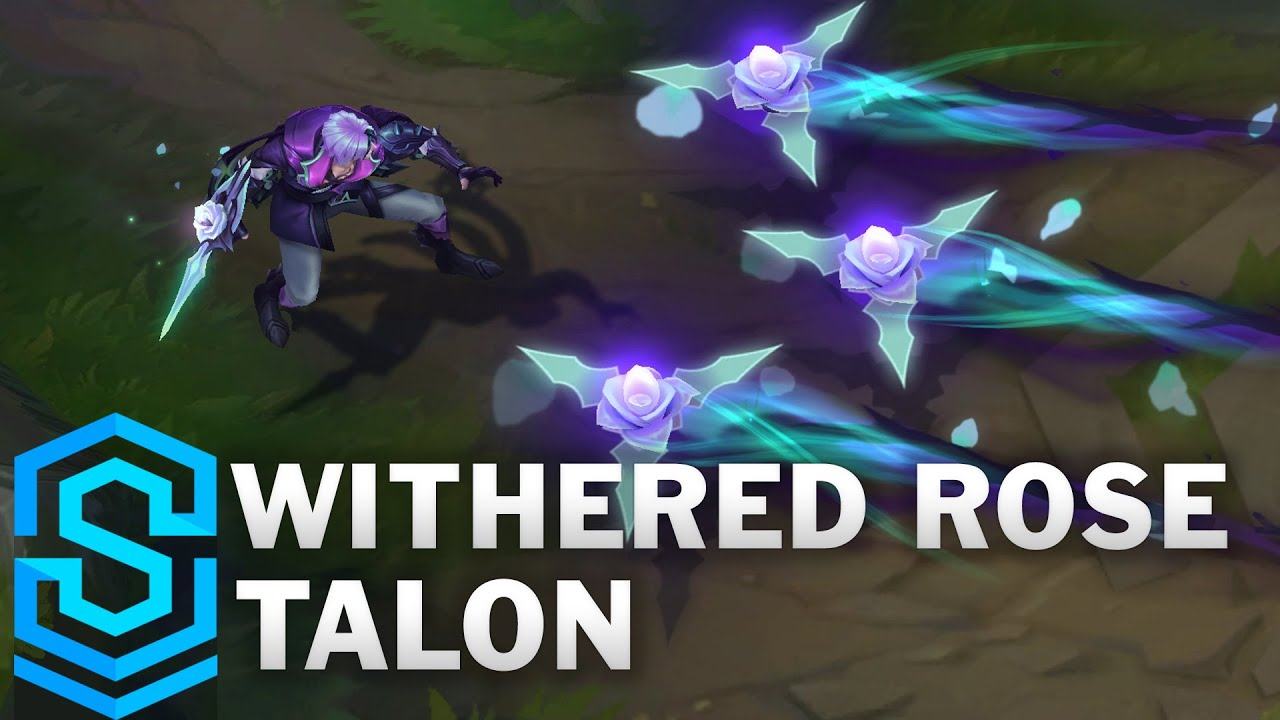 Withered Rose Talon Skin Spotlight - Pre-Release - League of Legends