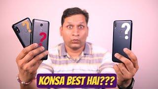 Asus Zenfone Max Pro M1 vs RedMi Note 5 Pro vs RedMi Note 5 Massive Comparison