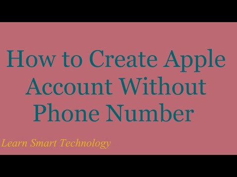 How to Create New Apple Account Without Phone Number And Email