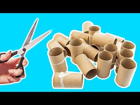 4 Ways To Recycle Empty Toilet Paper Roll | Best Out of Waste