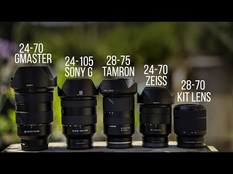 Which Sony 24-70mm lens should you buy for Full-Frame? Buying Guide 2018