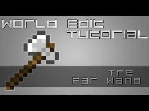 Minecraft | WorldEdit Tutorial #3 | The FarWand