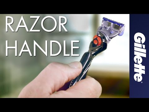 Gillette razor handles | The science behind our ergonomic grips and power handles