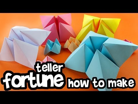 How to make - Paper Fortune Teller