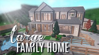 Roblox Bloxburg Cozy Aesthetic Family Home 91k Bloxburg Relaxed Modern Home 58k