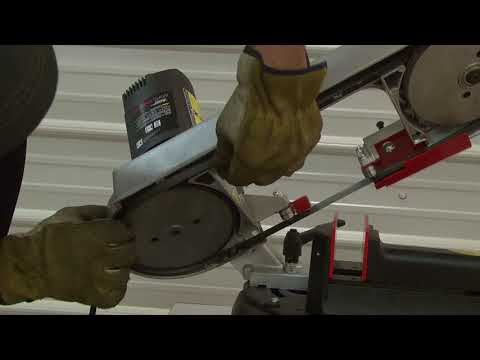 HE&M Saw 782XLH ABS 105 Blade Change