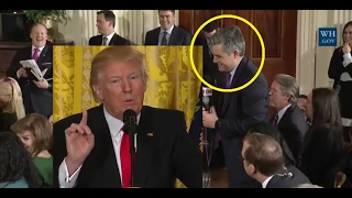 "Even Jim Acosta CNN had to laugh @ ""very"" fake news. President Trump schools CNN with humor & facts"