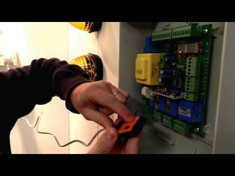 Programming an electronic gate remote