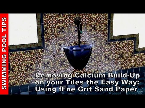 Removing Calcium Build-Up From Your Pool Tile Line - The Easy Way