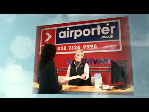 Airporter - Be Driven - Bus & Coach Transport Service Derry / Londonderry to Belfast Airports