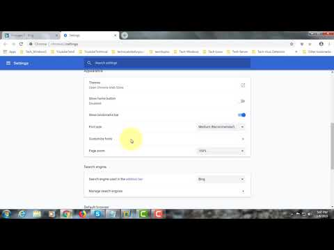 How to Change or Remove Bing Search Engine on Chrome