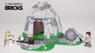 Lego Star Wars 75200 Ahch-To Island Training Speed Build