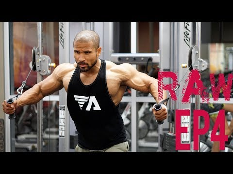 THE RAW LEAN BULK- EP4- IN THE GROOVE-CHEST MASS WORKOUT