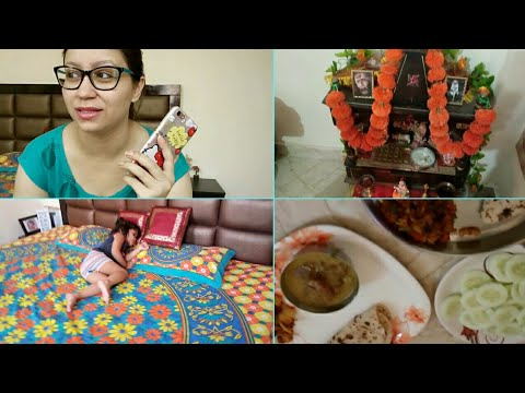My Lunch Routine In New House    Preparing Hubby's Most Favourite Food