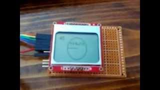 Adafruit GFX library + Nokia 5110 LCD + niq_ro's sketch (I) - getplaypk