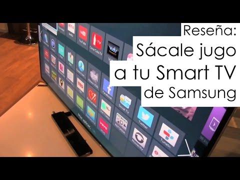 Sácale jugo a tu Samsung Smart TV