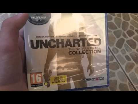 Unboxing   Play Station 4 Uncharted Collection
