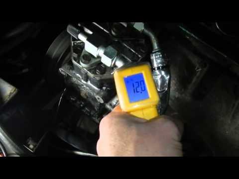 A/C Compressor Seal Leak