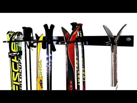Build Your Own Garage Ski Rack