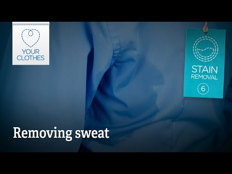 Stain removal: how to remove sweat stains from clothes