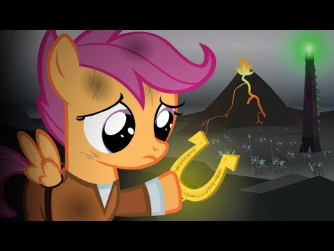 Lord of the Rings Re-enacted by Ponies