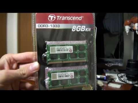 Transcend DDR3-1333 8GB KIT 購入