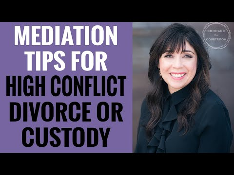 Mediation Can Work Even in High Conflict Divorces