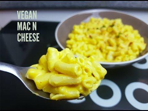 VEGAN MAC N CHEESE - CookingwithKarma