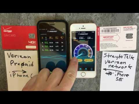 Speed Test Results - Verizon Prepaid & Straight Talk Verizon