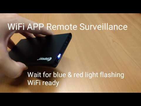 Corprit Wireless Hidden Camera Ultra-thin 3500mAh Power Bank HD 1080P Spy IP Camera