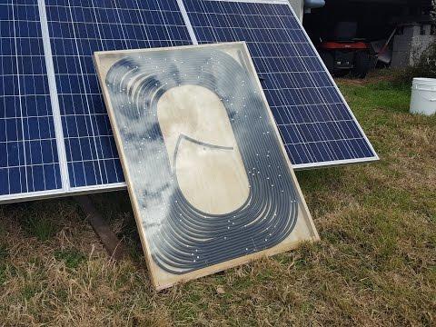 Off Grid Solar Power - DIY Solar Hot Water