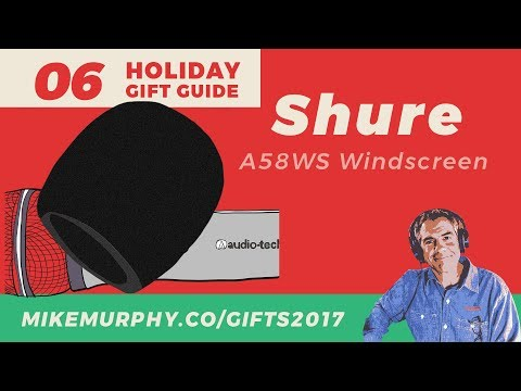 Gift 06: Shure Windscreen