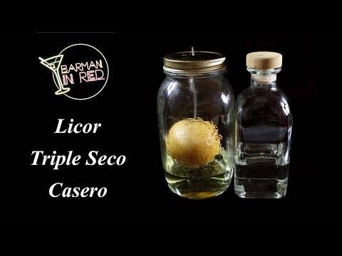 como hacer el licor TRIPLE SECO CASERO