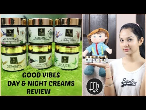 Natural FACE CREAMS Under 200 For Every Skin Problem | GOOD VIBES CREAMS REVIEW | Miss Priya TV |