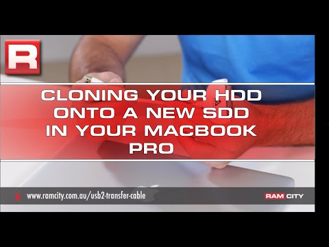 How to clone the hard drive to a new SSD in a 2011 MacBook Pro