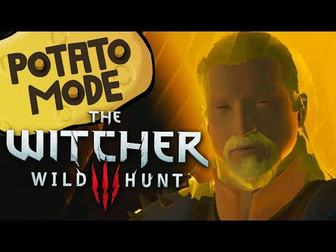 The Witcher 3's Lowest Settings Are An Existential Nightmare | Potato Mode