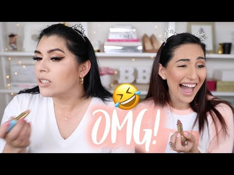 MAKEUP & ROUTINE SWAP WITH MY MOM | I WAS SHOOK | BEAUTYYBIRD
