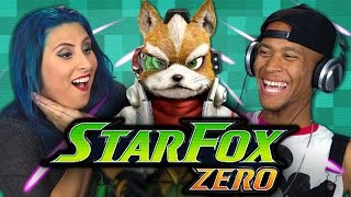 STAR FOX ZERO (Adults React: Gaming)
