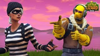 RAPTOR FALLS IN LOVE WITH THE ENEMY!- Fortnite Short Film