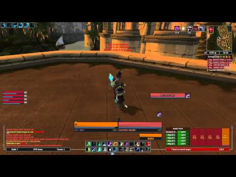 Lost City of the Tol'vir Normal Multibox Death Knight's Druid 2011-07-20