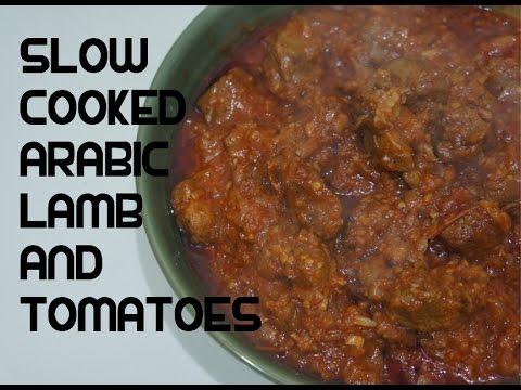 Tender Lamb Stew Recipe Video - Arabic Middle Eastern