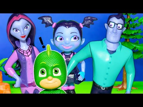 Vampirina's Fangtastic Friends and PJ Masks Explore Silly Haunted House