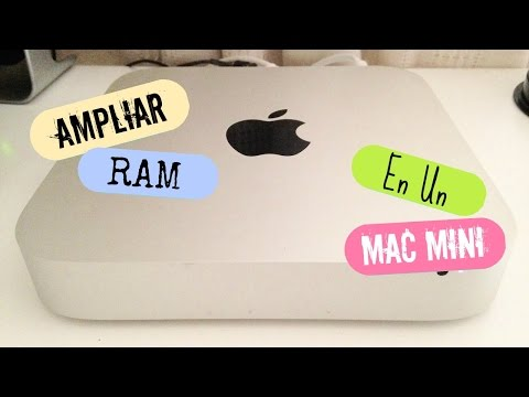 Cómo ampliar la RAM en un Mac Mini