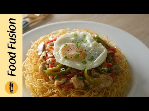 Chopsuey with Crispy Fried Noodles Recipe By Food Fusion