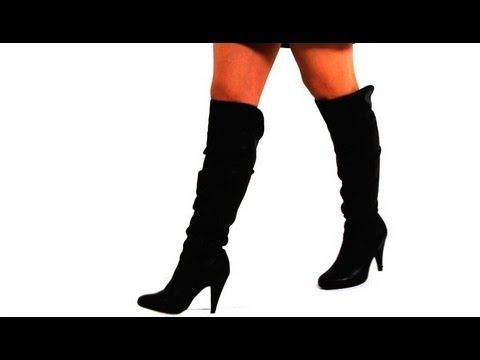 How to Walk in High-Heeled Boots | High Heel Walking