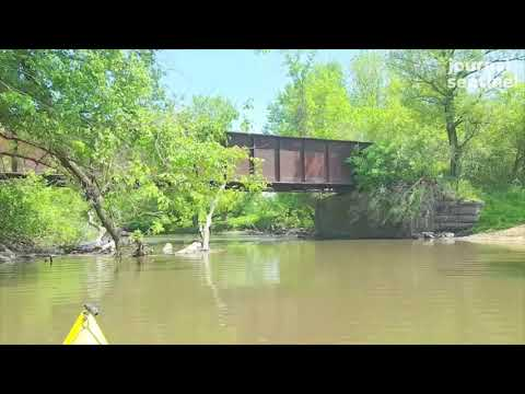 Video: Paddling the Pecatonica River