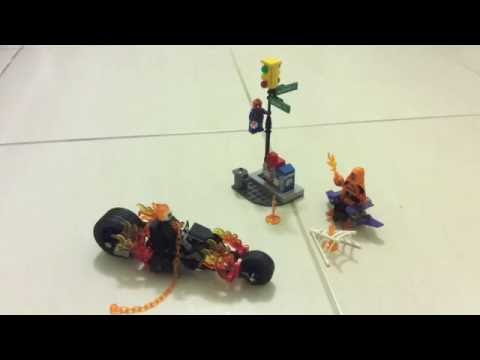 The lego spider man ghost rider team up review