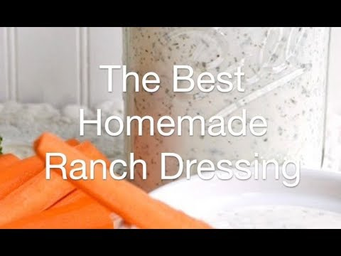 The Best Homemade Ranch Dressing - AnOregonCottage.com