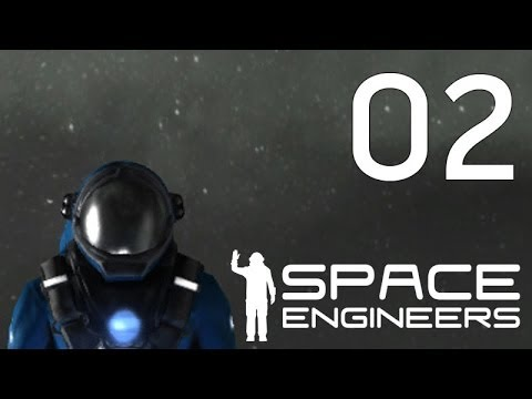 Space Engineers Let's Play Part 2 - Finding Resources