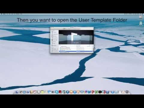 Tutorial | How to Delete Word Templates on a Mac